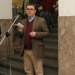 Slova se ujal  kurátor výstavy PhDr. Petr Hlaváček, Ph.D.
