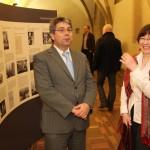 Doc. PhDr. Milan Hrdlička, CSc., z Ústavu bohemistických studií FF UK a Bc. Kateřina Mitasová ze zahraničního oddělení FF UK