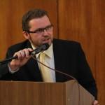 Úvodní slovo pronesl děkan FF UK doc. PhDr. Michal Stehlík, Ph.D.
