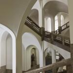 Interiér hlavní budovy Filozofické fakulty Univerzity Karlovy v Praze; zdroj: archiv FF UK
