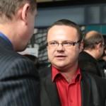 Vernisáže se zúčastnil Mgr. René Zavoral, náměstek generálního ředitele pro program a vysílání