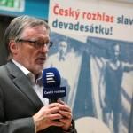 V úvodu vernisáže promluvil Mgr. art. Peter Duhan, generální ředitel Českého rozhlasu