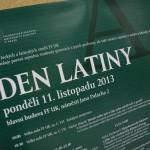 Den latiny přinesl množství seminářů a přednášek a také divadelní a filmové představení