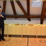 Na vernisáži promluvil PhDr. Stanislav Rubáš, Ph.D., ředitel Ústavu translatologie FF UK