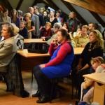 Prostory Šporkova paláce zaplnilo více než tři sta návštěvníků