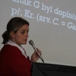 Hlavní organizátorka akce – doc. Lucie Pultrová