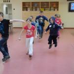 V průběhu soutěžních úkolů se děti mohly pohybově realizovat