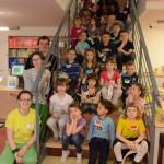 Holky a kluci ve věku od 5 do 10 let absolvovali v Knihovně Jana Palacha Noc s Andersenem