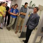 Ke gratulaci se připojil i proděkan pro informační zdroje Ing. Martin Souček, Ph.D.