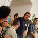 Hosty na oslavě přivítal vedoucí Knihovny Jana Palacha Mgr. Jan Kamenický