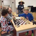 Poslední partie šachu před spaním.