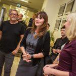 Úvodní slovo k výstavě zajistila Veronika Souralová, ředitelka soutěže Czech Press Photo.
