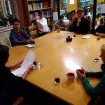 Vilma Manová čte své básně v Knihovně ÚFaR