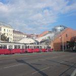 Ústřední knihovna (Hauptbücherei am Gürtel) vídeňské městské knihovny (Büchereien Wien).