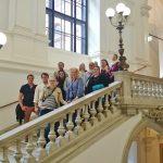 Na Vídeňské univerzitě.