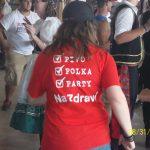 Texaskočeské tričko na Westfestu