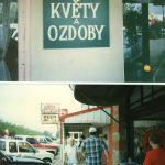 Květinářství a Czech-American Restaurant ve Westu, Texas