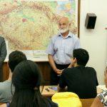 zleva: velvyslanec Mexika J. E. p. Pablo Macedo Riba, prof. Josef Opatrný, dr. Araceli Luz González Uresti