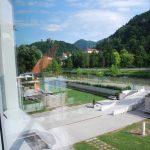 Výhled z knihovny Celje na hrad
