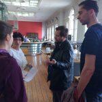 Sympatické knihovnice nás blíže seznámily s fungováním knihovny (Dublin City Library) a projevily živý zájem o činnost univerzitních knihoven v ČR