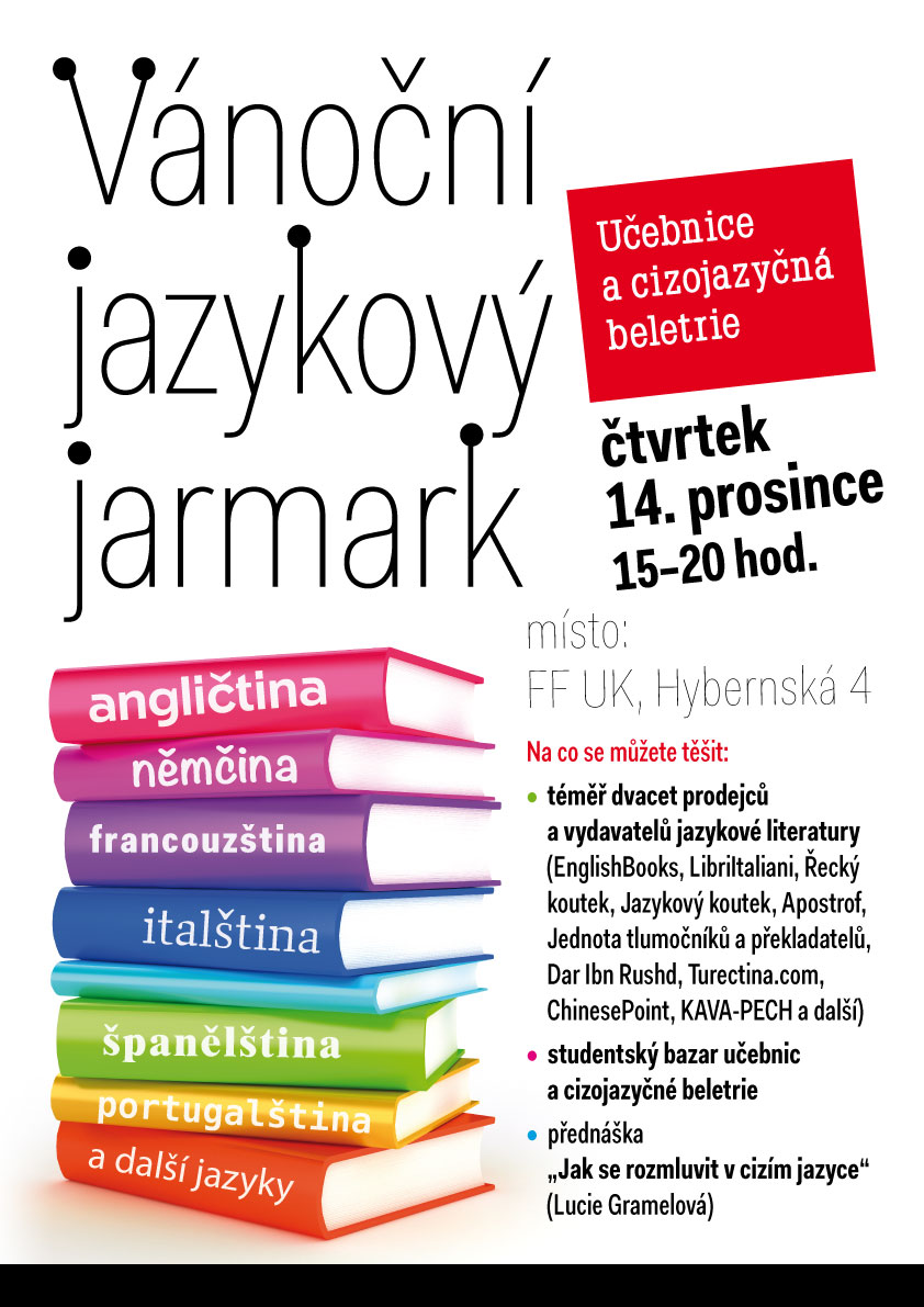 cde4e3d813 Vánoční jazykový jarmark představí produkci dvaceti vydavatelství ...