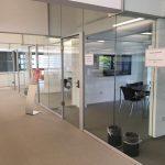 Samozřejmostí jsou prostory pro skupinové i individuální studium. (Teilbibliothek Physik, TUM)