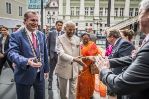 President of India Visited Charles University | Filozofická